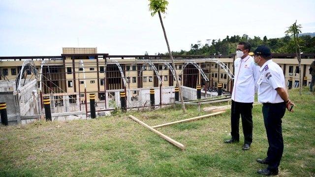 Dibangun 90 Hari, Sulsel Berikan 100 Unit Huntap untuk Korban Gempa Sulbar