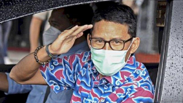 Menteri Pariwisata dan Ekonomi Kreatif Sandiaga Salahudin Uno.
