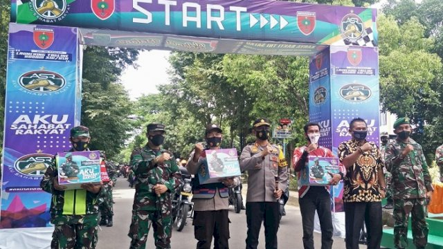 Launching 'Aku Sahabat Rakyat', Ini Penjelasan Dandim Takalar