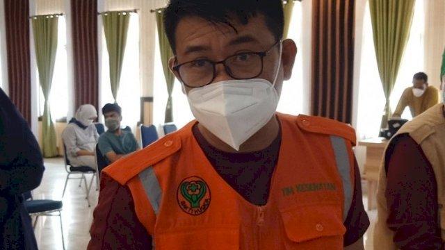Juru Bicara Satgas Penanganan Covid-19 Kabupaten Luwu Utara, I Komang Krisna.