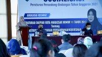 Fatma Wahyuddin Harap Perda Retribusi Pelayanan Persampahan di Revisi