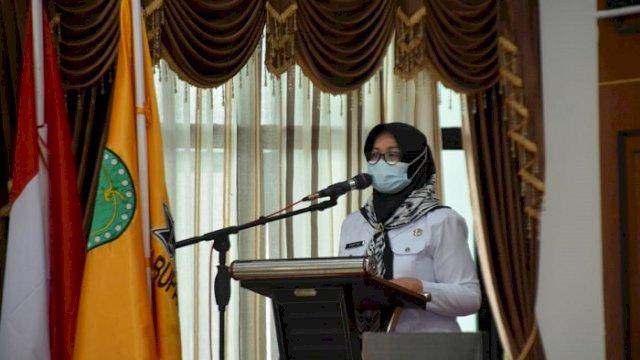 Wakil Bupati Sinjai Hj Andi Kartini Ottong.