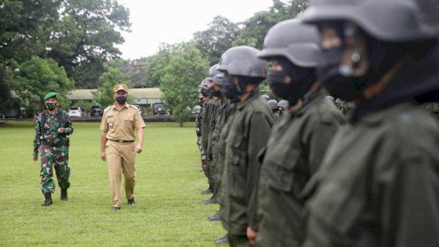 Tutup Diksar Menwa Sub Makassar Danny: Pandemi Itu Ibarat Musuh