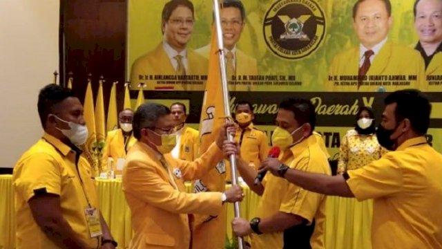 Appi Terpilih Aklamasi Jadi Ketua Golkar Makassar