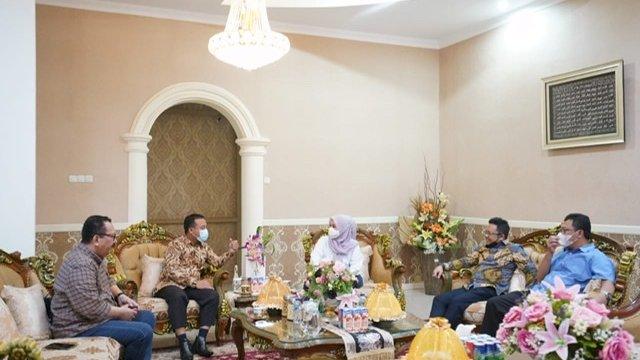 Andi Sudirman Temui Pimpinan DPRD Sulsel, Wawan: Silaturahmi Biasa