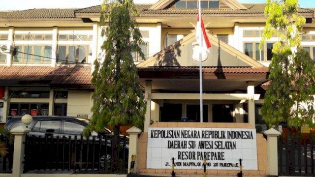 Kantor Polres Parepare, Sulawesi Selatan. (int)