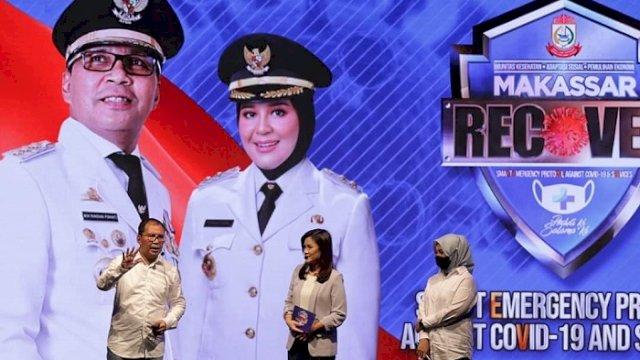 Luncurkan 'Makassar Recover', Danny Optimis Putus Mata Rantai Covid-19