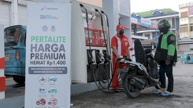 Promo Spesial! Pertalite Seharga Premium di Makassar Mulai 21 Maret