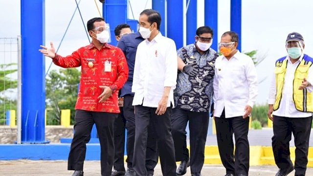 Plt Gubernur Ajukan Sejumlah Proyek Strategis ke Presiden, Termasuk Mamminasata Outer Ring Road