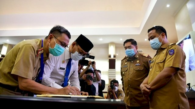 BPK-Inspektorat Kawal Pemulihan Ekonomi di Sulsel