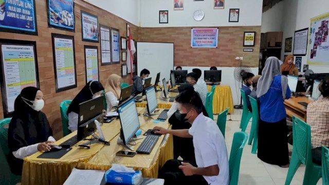 PKBM Todilaling Sinjai Gelar Ujian Pendidikan Kesetaraan secara Online