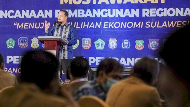 Hadiri Musrenbang Regional Sulawesi, Andi Sudirman: Sulsel Masih Fokus Infrastruktur