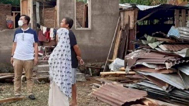 Tim Social Care Dinsos Sulsel Kunjungi Sejumlah Lokasi Terdampak Bencana