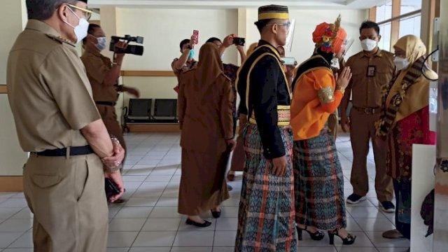 Tim Penilai Pasar Aman Award Nasional Tinjau Pasar Sumpang Minangae