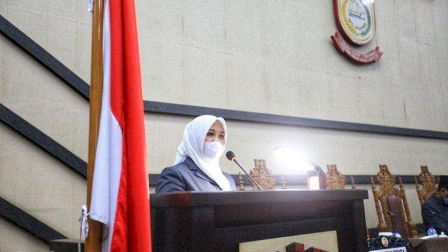Wakil Walikota Makassar Fatmawati Rusdi.