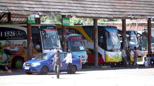 Ilustrasi: Suasana Terminal Regional Daya Makassar. (int)