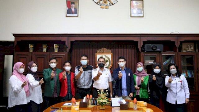 Temui Danny, ISMKI Nyatakan Dukung Makassar Recover