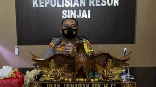 Kapolres Sinjai AKBP Iwan Irmawan.