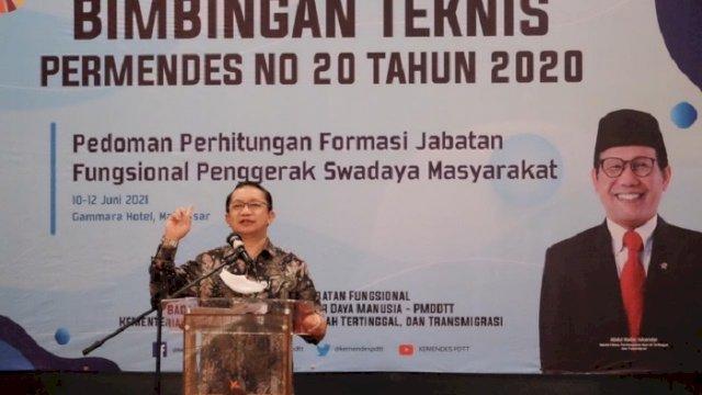 Sekjen Kemendes PDTT: Pembangunan Indonesia harus Dimulai dari Desa