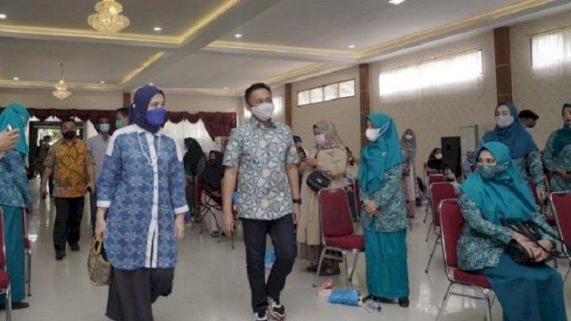 Anggota Komisi IX DPR RI, Aliyah Mustika Ilham saat berada di Kabupaten Bantaeng, Minggu (13/6/2021).