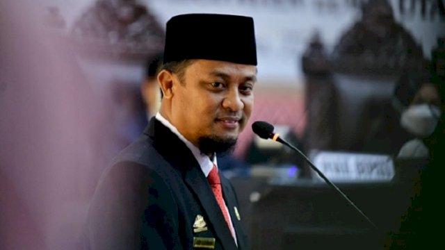 Pelaksana Tugas Gubernur Sulawesi Selatan, Andi Sudirman Sulaiman.