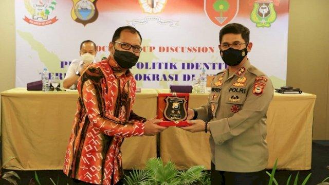 Walikota Makassar Danny Pomanto dan Kapolda Sulsel Irjen Pol Drs Merdisyam MSi.