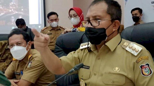 """Walikota Makassar, Moh Ramdhan """"Danny"""" Pomanto."""