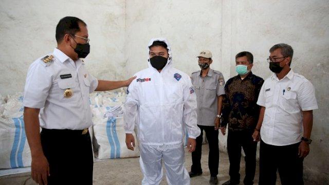 Walikota Sewa Gudang Penampungan Kelengkapan Makassar Recover