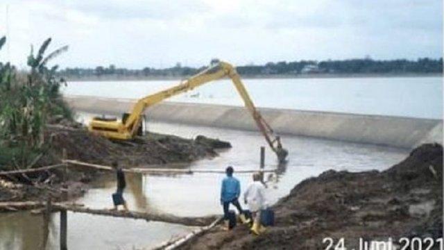 BBWS-PJ Keruk Sungai di Antang, Mengurangi Dampak Banjir Tahunan