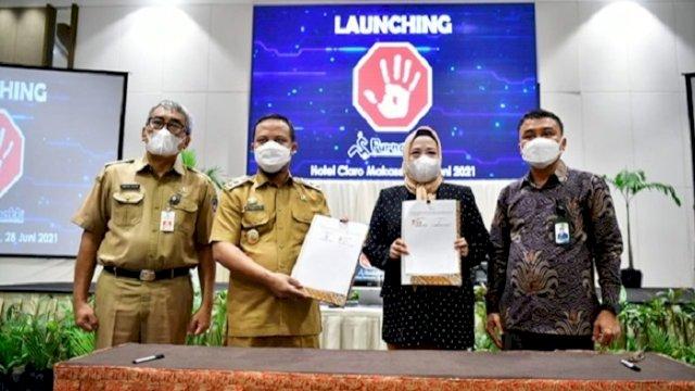 BKD Sulsel Launching Aplikasi Purnabakti, Bikin Proses Pensiun Semakin Simpel