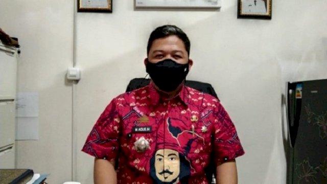 Kepala Bidang Pengadaan dan Mutasi Pegawai BKPSDM Gowa, M Agus Salim Harahap