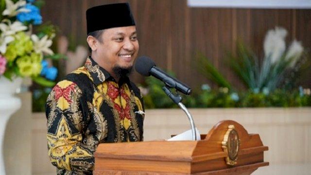 Plt Gubernur Sulsel Andi Sudirman Sulaiman.