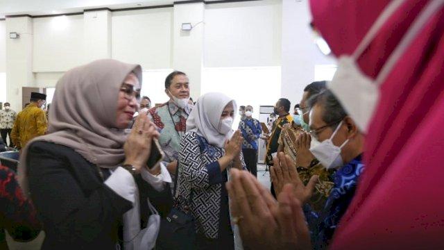 Hadiri Serah Terima Kepala BPK Sulsel, Ini Harapan Wawali Fatmawati Rusdi