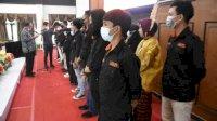 Resmi Dilantik, KMS UNM Terbukti Telah Memberikan Kontribusi di Sinjai