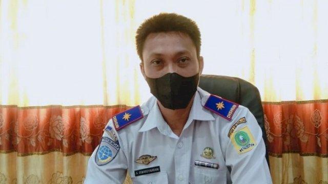 Kepala Dinas Perhubungan Kabupaten Sinjai, Andi Irwansyahrani Yusuf.