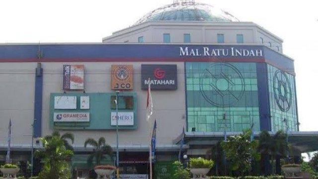 Mal Ratu Indah, salah satu mal yang ada di Kota Makassar. (int)