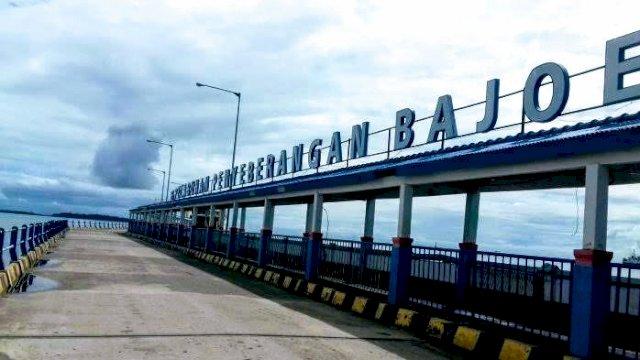 Dermata Pelabuhan Penyeberangan Bajoe. (int)