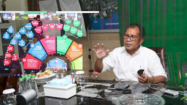 Walikota Makassar Moh. Ramdhan 'Danny' Pomanto.