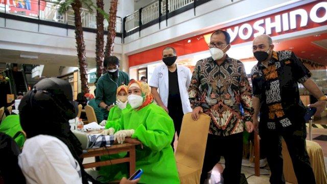 Danny Sebut Makassar Masuk 8 Besar Kota Terbaik Laksanakan Vaksinasi