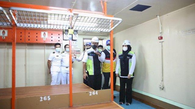 Kapal Isolasi Apung Berkapasitas 804 Kamar Pasien dan 60 untuk Nakes