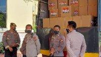 Ribuan Paket Sembako Siap Dibagi ke Warga Terdampak Pandemi di Makassar