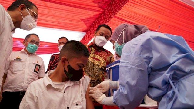2 Juta Lebih Warga Sulsel Sudah Disuntik Vaksin