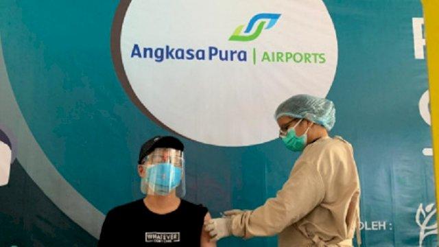Bandara Sultan Hasanuddin Memberikan Layanan Vaksinasi Gratis, Ini Syaratnya