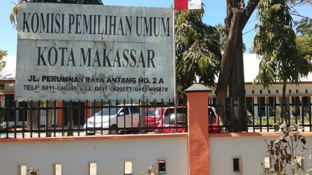 Kantor KPU Kota Makassar. (int)