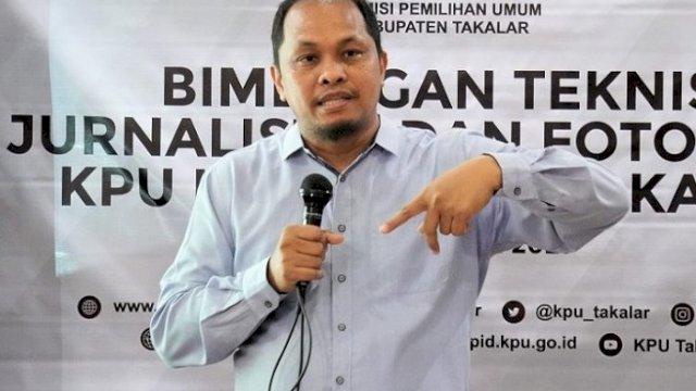 Ketua Divisi Data dan Informasi Pemilih KPU Sulsel, Uslimin.