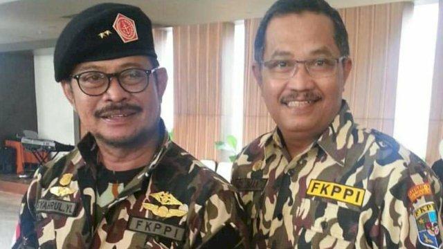 Syahrul Yasin Limpo dan Agus Sumantri.