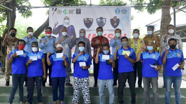 Datangkan Vaksin untuk Warga Binaan Lapas, Plt Gubernur Apresiasi Aliyah Mustika Ilham