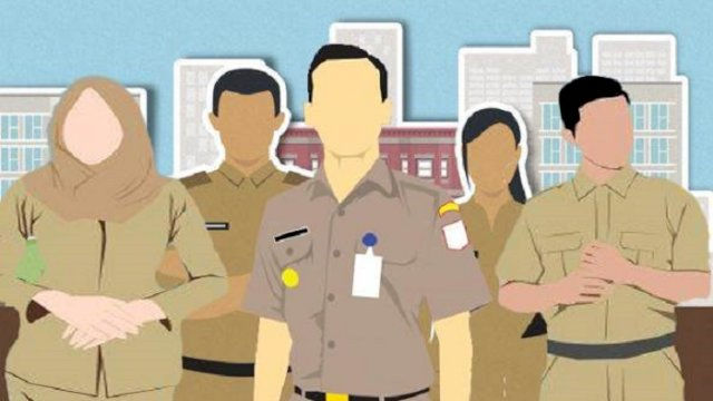 ilustrasi: Aparatur Sipil Negara tetap masuk pada 10 Agustus besok. (int)