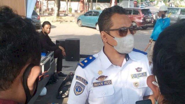 Kepala Dishub Makassar Iman Hud.