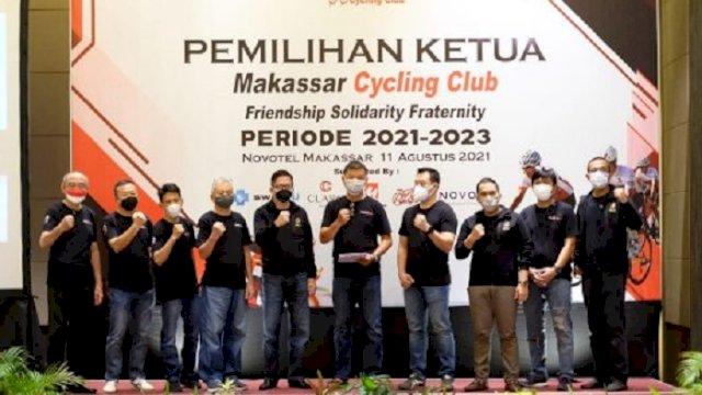Anggiat Sinaga Mundur, Arissanto Wijaya Terpilih Pimpin Makassar Cycling Club